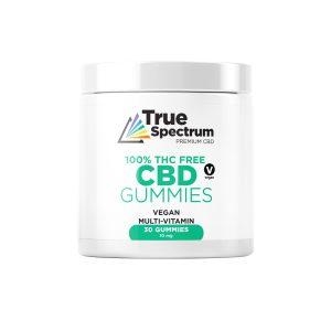 CBD Gummies Broad Spectrum Vegan Multivitamins 10mg